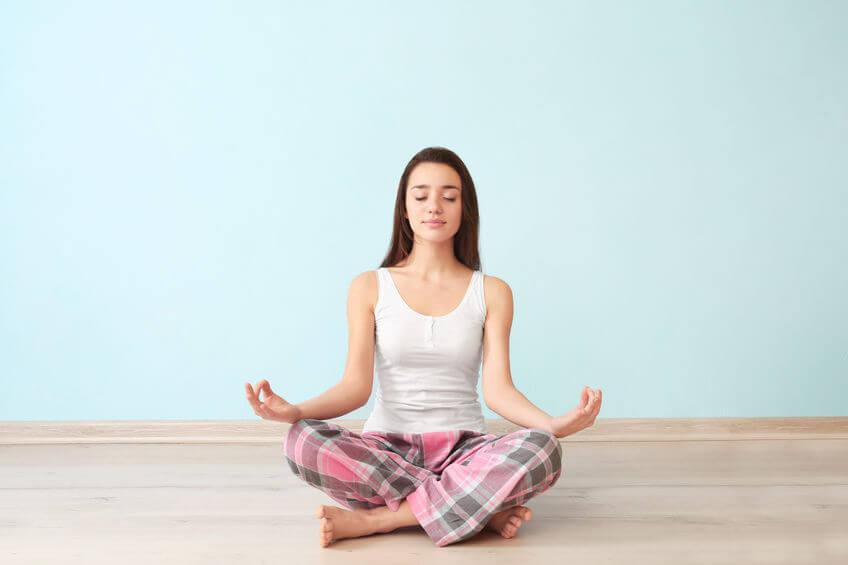 Meditation erhöht Schwingungsfrequenz